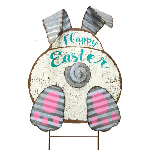 Round Top BASHFUL HAPPY EASTER BUNNY