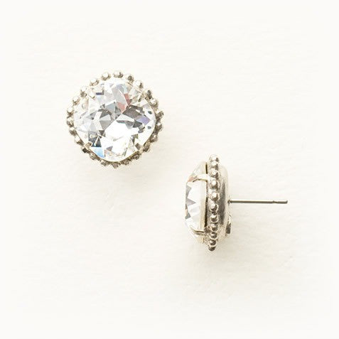 Sorrelli Cushion-Cut Solitaire Earring