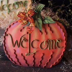 Round Top - Welcome Pumpkin