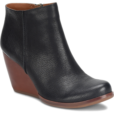 KORK-EASE NATALYA BLACK LEATHER SHOE