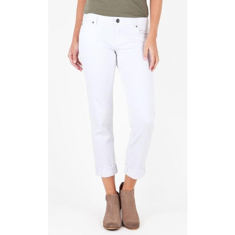 Kut from Kloth Catherine Boyfriend (White Wash)