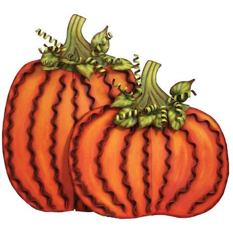 Round Top - Pumpkin Pair
