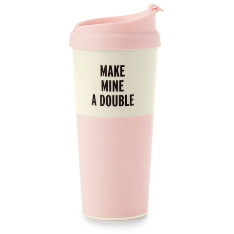 Kate Spade Make Mine a Double Thermal Mug
