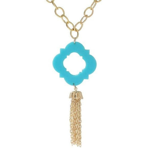 Moon and Lola Malta Tassel Necklace