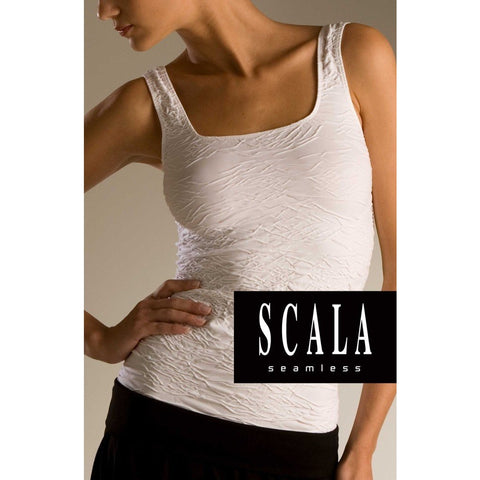 Scala Seamless Crinkled Tank