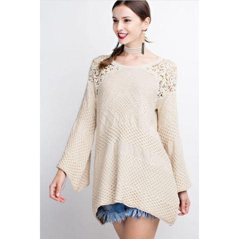 Easel Oatmeal Sweater