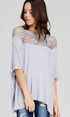 Jodifl Off Shoulder Crochet Top
