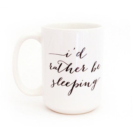 Moon and Lola I'd Rather Be Sleeping Mug