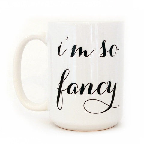 Moon and Lola I'm So Fancy Mug