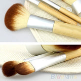 BAMBOO Cosmetic Brush Set 5 piece