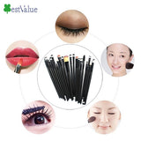 High Quality 20 Piece Professional  Cosmetic Set