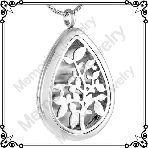 Stainless Steel 'Tree of Life' Diffusers, with chain.