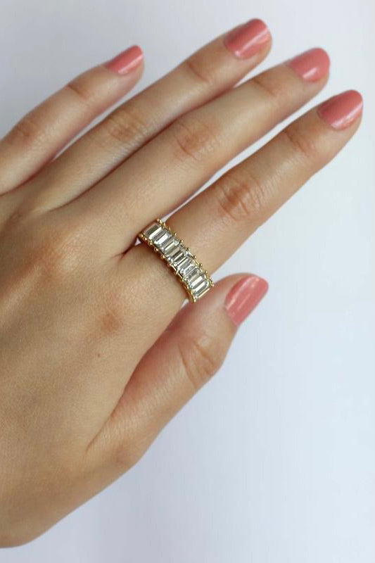 Crystal Shimmer Ring