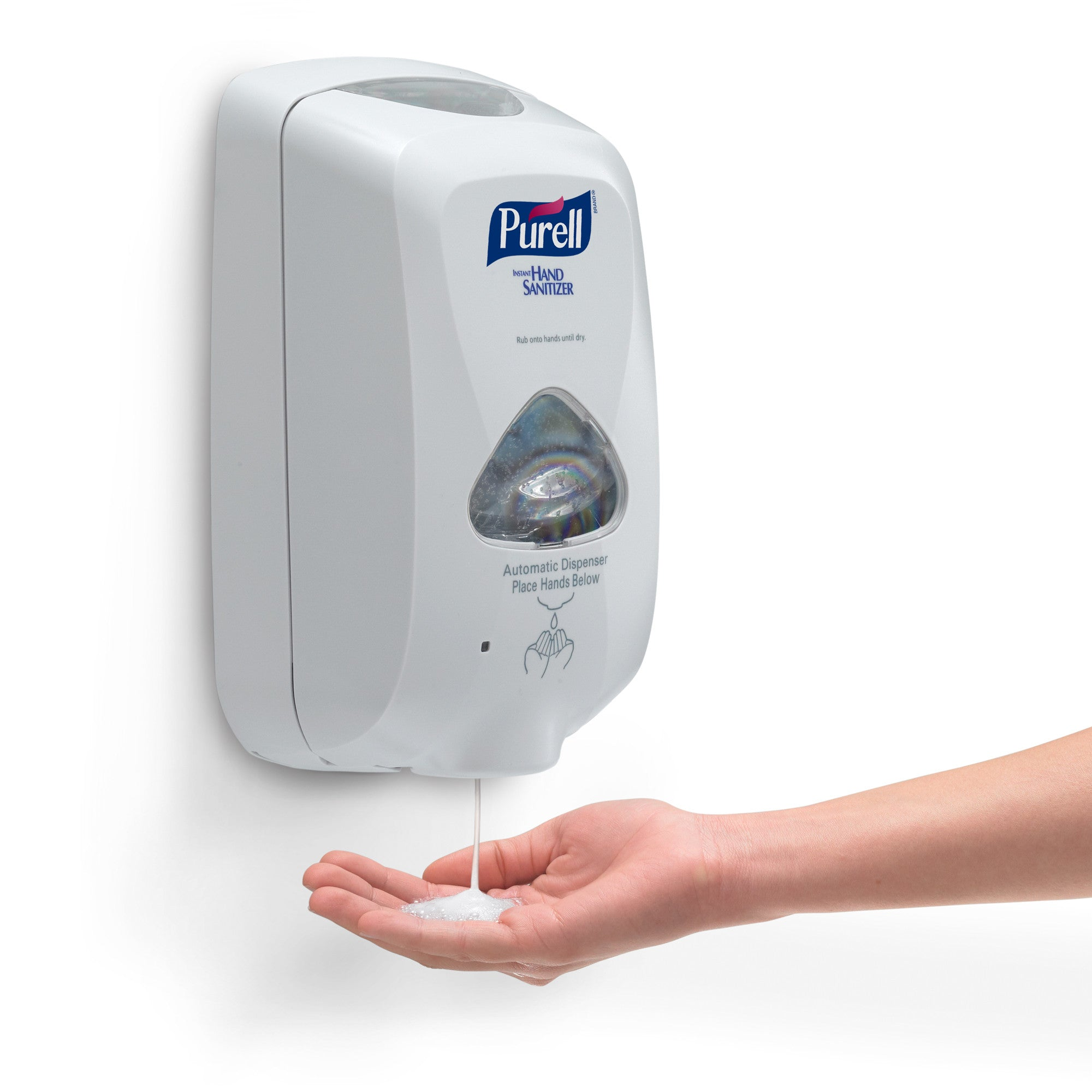 PURELL® TFX™ Touch Free Dispenser - Dove Gray