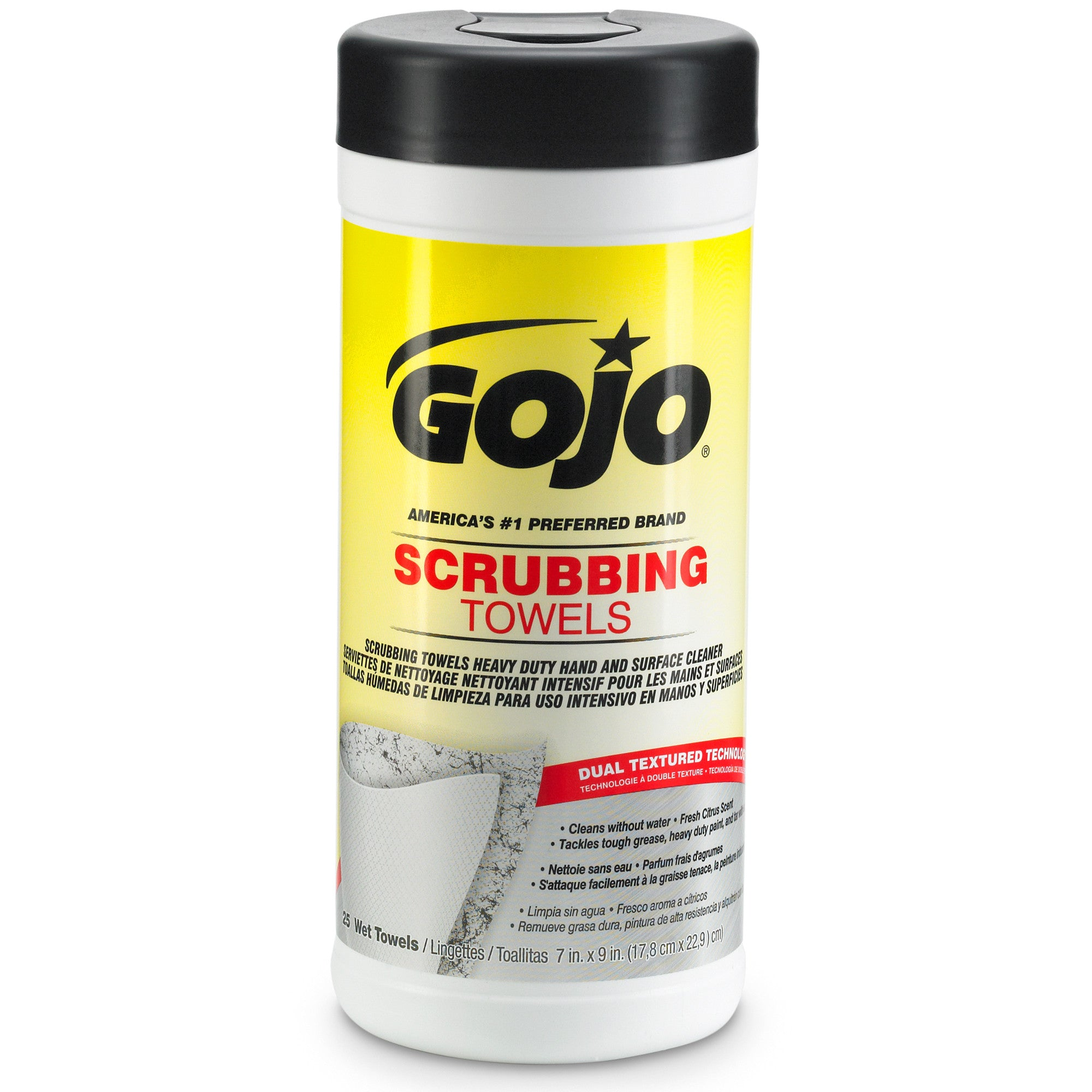 GOJO® Scrubbing Towels - 25 Count