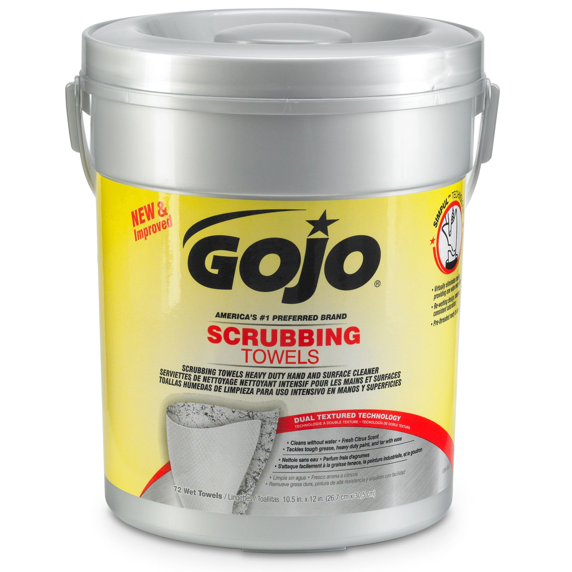GOJO® Scrubbing Towels - 72 Count