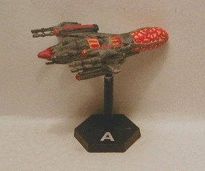 Babylon 5 Wars Drazi Sunhawk Battlecruiser