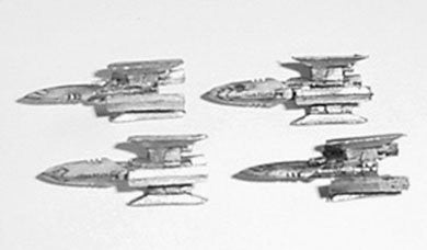 Fleet Action Centauri Kutai Gunship