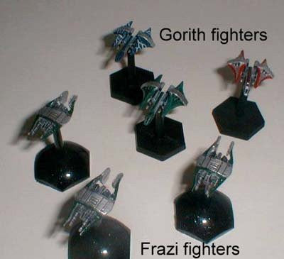 Babylon 5 Wars Narn Frazi Heavy Fighter