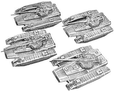 GROPOS Earth Alliance Thor Tank Miniature