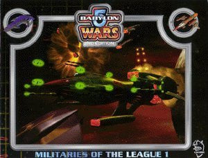 Babylon 5 Wars Militaries of the League of Non-Aligned Worlds (Part 1)