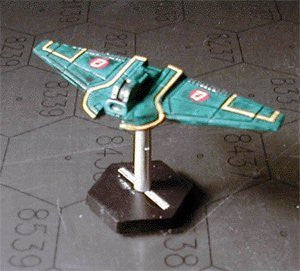 Babylon 5 Wars Brakiri Ikorta Assault Cruiser
