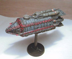 Babylon 5 Wars Raider and Civilian miniatures