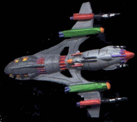 Babylon 5 Wars Drazi Strikehawk Battlecruiser