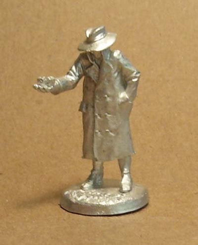 "Agents of Gaming ""Games Agent"" Pewter Figure"
