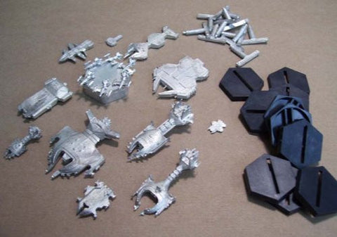 Fleet Action Dilgar Imperium Miniatures Complete Set