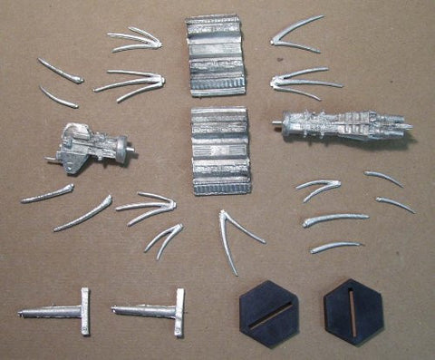 Babylon 5 Wars/ACTA Earth Alliance Shadow Omega Miniature