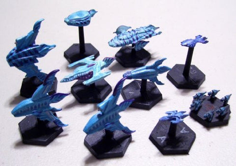 Fleet Action Minbari Miniatures Complete Set