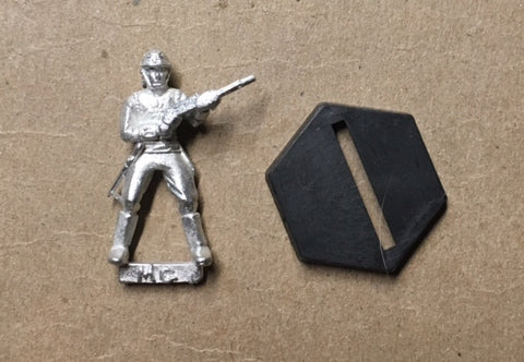 B5 RPG Centauri Republic guardsman figure (standing at attention)