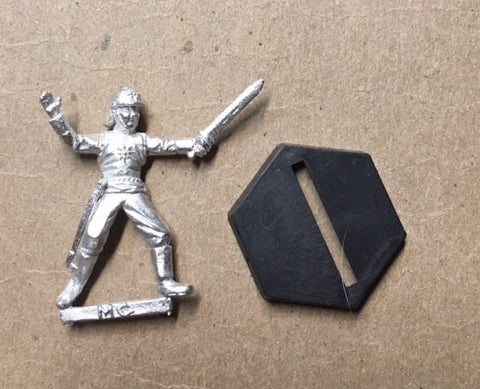 B5 RPG Centauri Republic guardsman figure (lunging with sword)