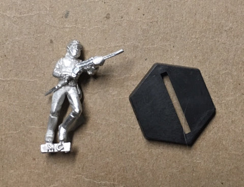 B5 RPG Centauri Republic guardsman figure (running with rifle)