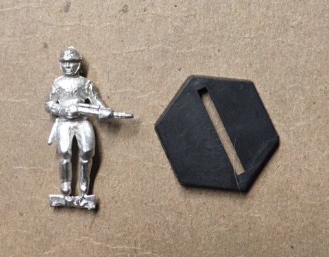 B5 RPG Centauri Republic guardsman figure (rifle at the ready)