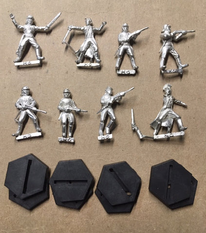 B5 RPG Centauri Republic set of 8 character figures
