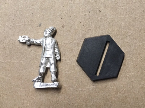 B5 RPG Minbari Federation guard figure (aiming pistol)