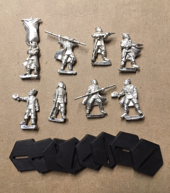 B5 RPG Minbari Federation set of 8 character figures
