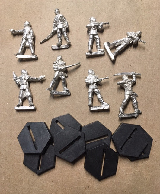 B5 RPG Narn Regime set of 8 character figures