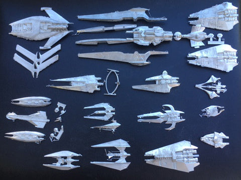 Babylon 5 Wars Narn Miniatures Complete Set