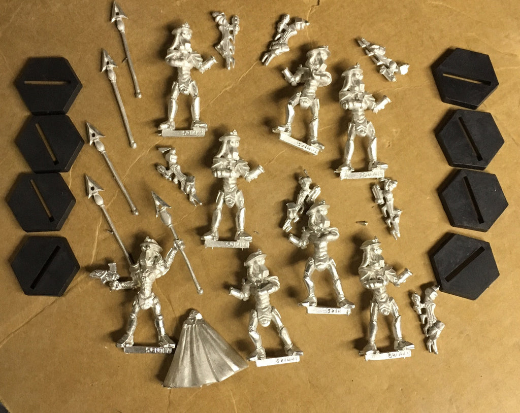Starship Troopers Skinnie Elite Guard set (8)