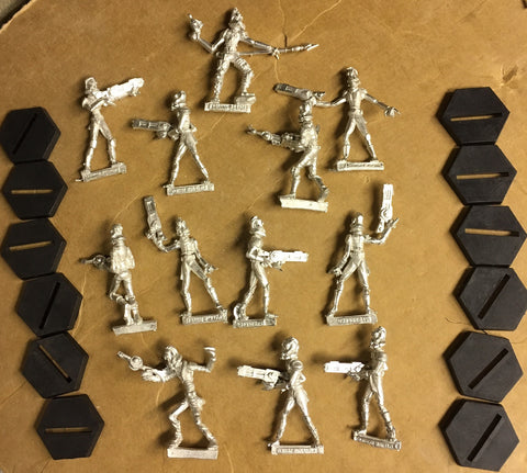 Starship Troopers Skinnie Militia set (12)