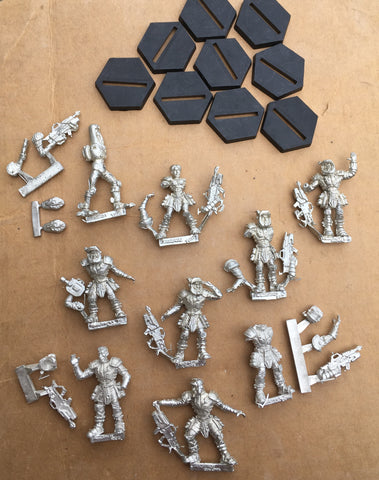 Starship Troopers Mobile Infantry Roughnecks set (9)