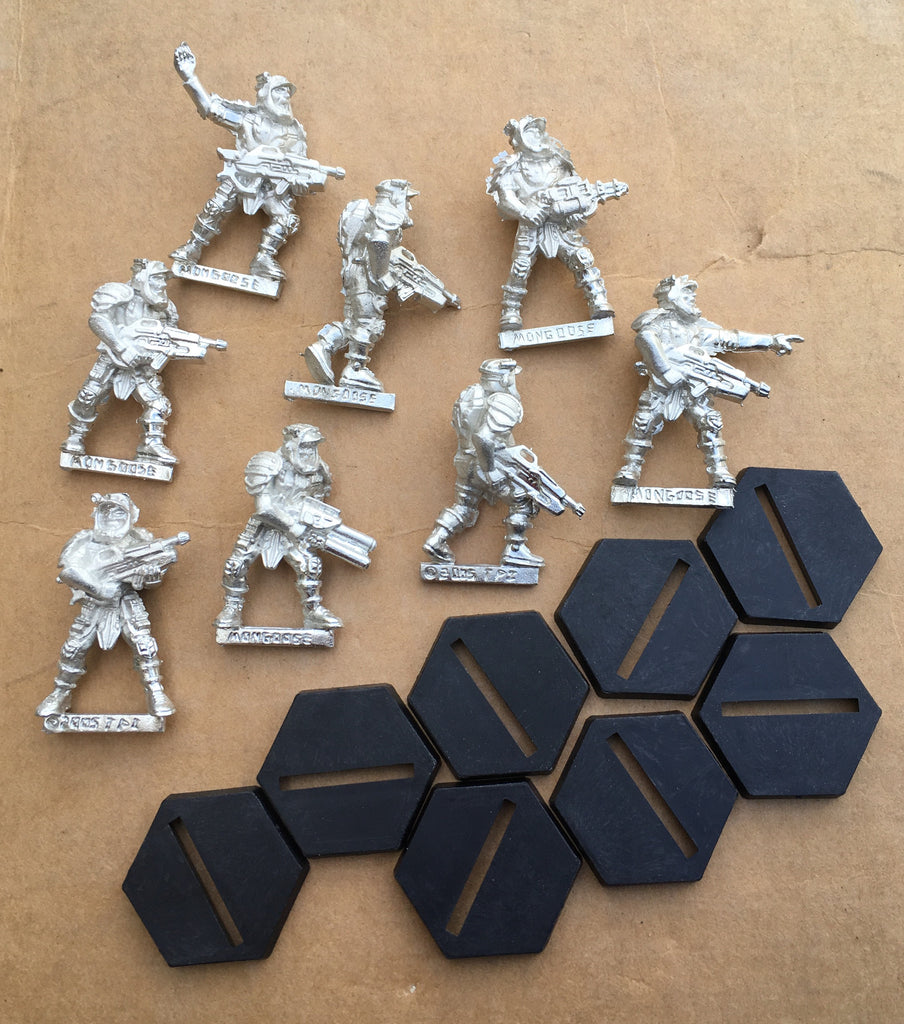 Starship Troopers Mobile Infantry Veteran Cap Troopers set (8)