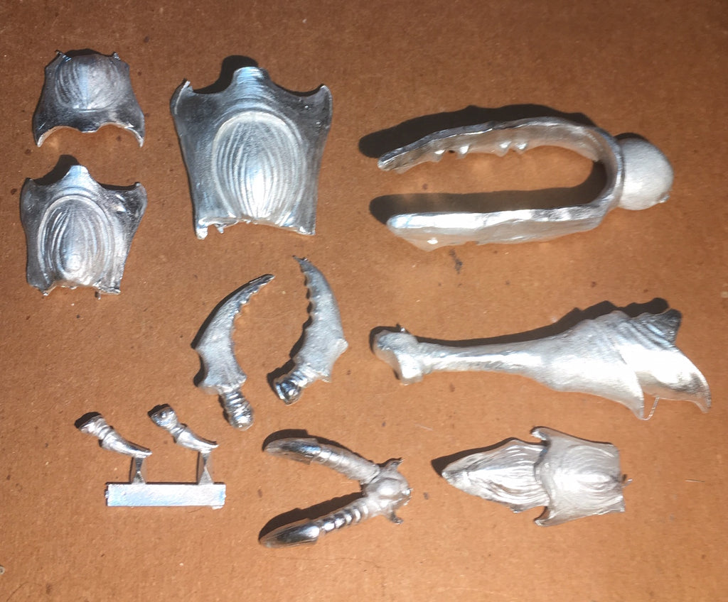 Starship Troopers King Tanker partial set of parts