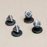 WHI Generic Mines (round or pyramid shaped); set of 4