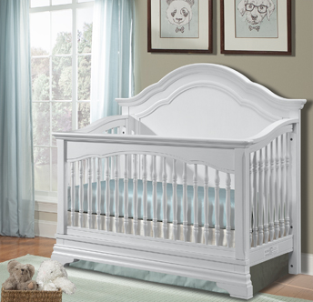Athena Convertible Crib - Avail in Off-White - Stella -usa baby