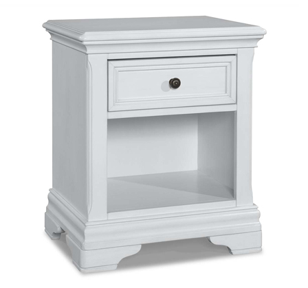 Athena Nightstand - Avail in Off-White - Stella -usa baby