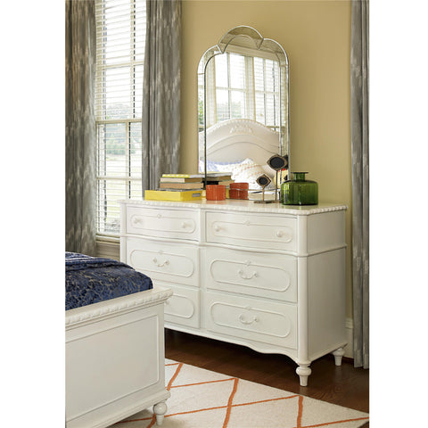 Bellamy Double Dresser - Avail in Off-White - Smartstuff -usa baby